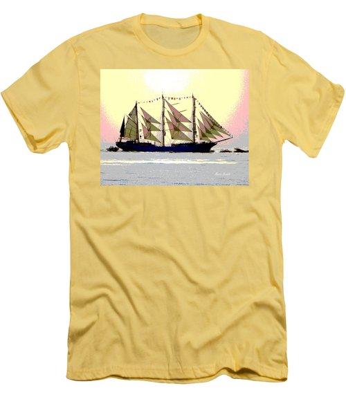 Mystical Voyage Men's T-Shirt (Athletic Fit)