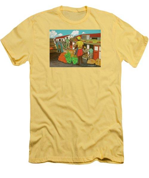 Nassau Fruit Boat Men's T-Shirt (Slim Fit) by Frank Hunter
