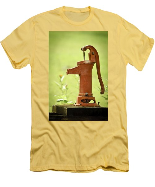 Old Fashioned Water Pump Men's T-Shirt (Athletic Fit)