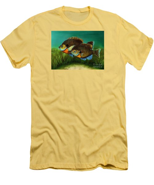 Pretty Little Panfish Men's T-Shirt (Athletic Fit)