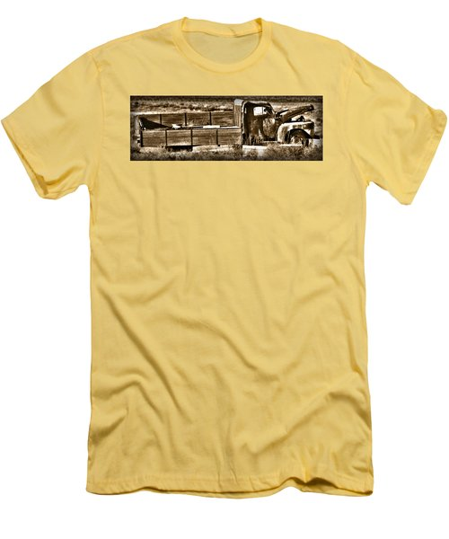 Retired Truck Men's T-Shirt (Athletic Fit)