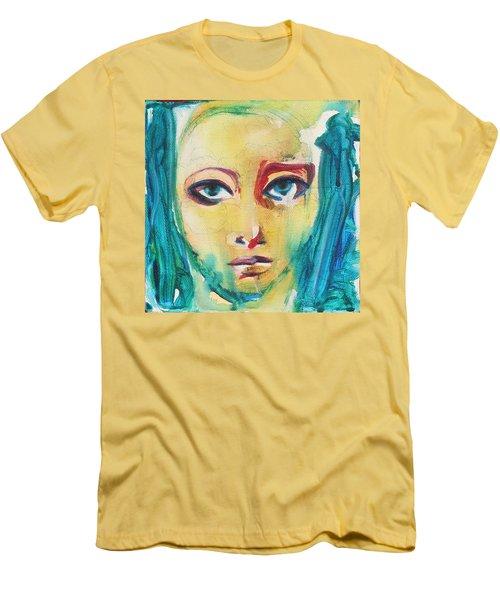 Self Portrait I  Men's T-Shirt (Slim Fit) by Sheridan Furrer