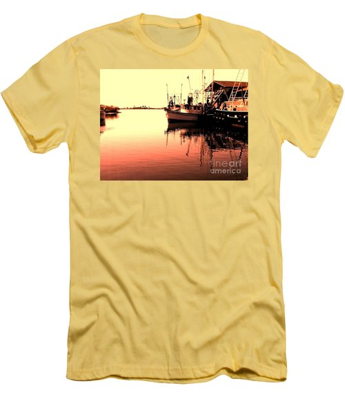 Men's T-Shirt (Slim Fit) featuring the photograph Sunset by Janice Spivey