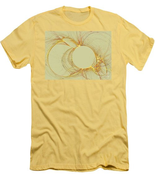 Men's T-Shirt (Slim Fit) featuring the digital art The Arcs by Kim Sy Ok