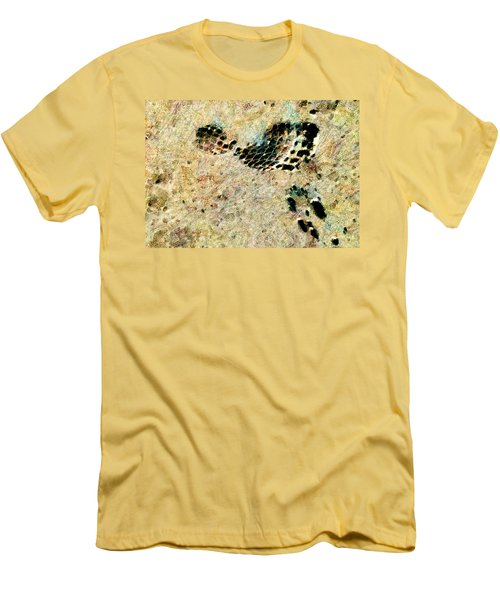 Men's T-Shirt (Slim Fit) featuring the digital art The Evolution Of Man by Steve Taylor