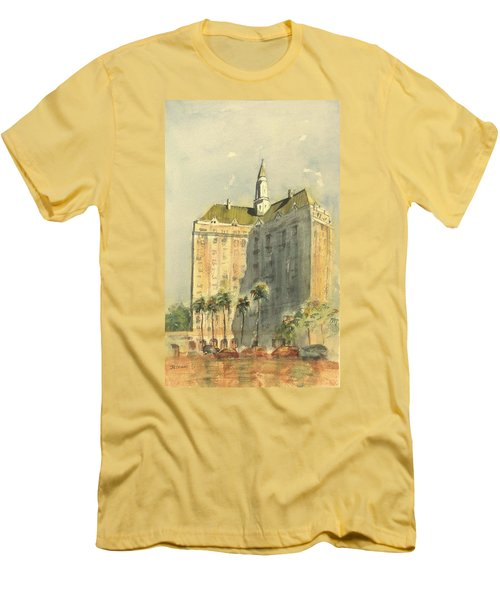 Villa Riviera Another View Men's T-Shirt (Athletic Fit)
