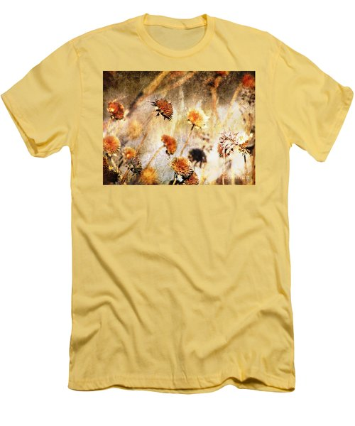 Yesterday's Flowers Men's T-Shirt (Athletic Fit)