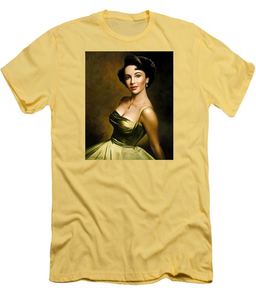 Elizabeth Taylor 2 Men's T-Shirt (Slim Fit)