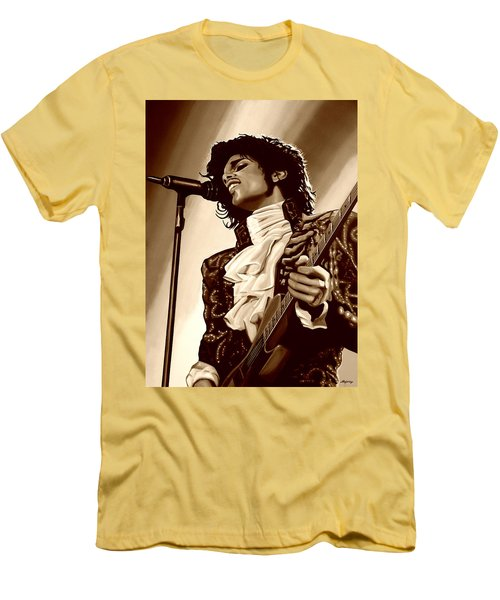 Prince The Artist Men's T-Shirt (Athletic Fit)
