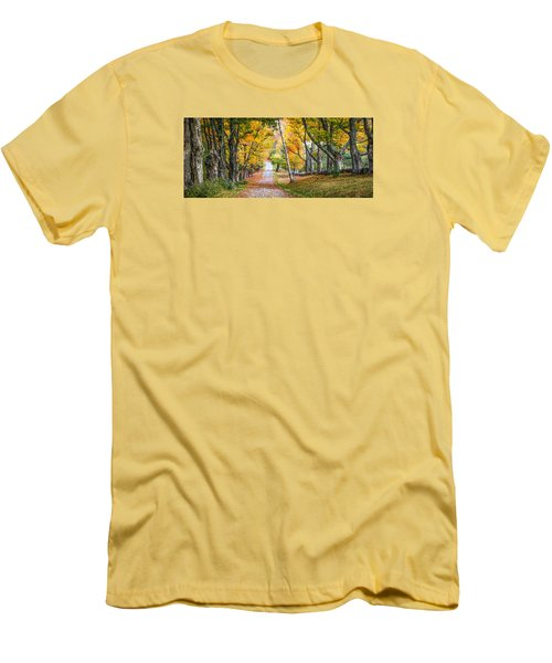 #0119 - New Hampshire Men's T-Shirt (Athletic Fit)