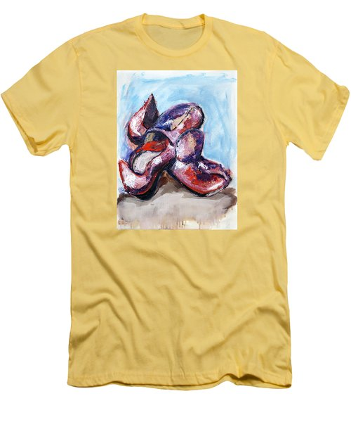 01324 Red Shoes Men's T-Shirt (Athletic Fit)