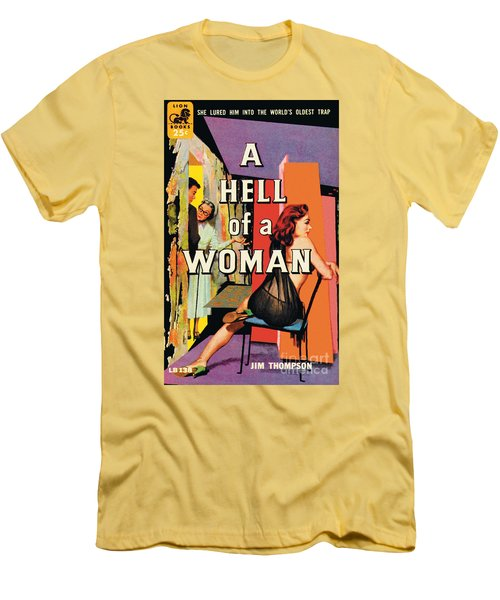 A Hell Of A Woman Men's T-Shirt (Athletic Fit)