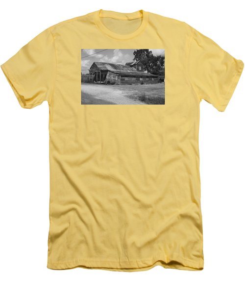 Abandoned Grocery Store Men's T-Shirt (Slim Fit) by Ronald Olivier