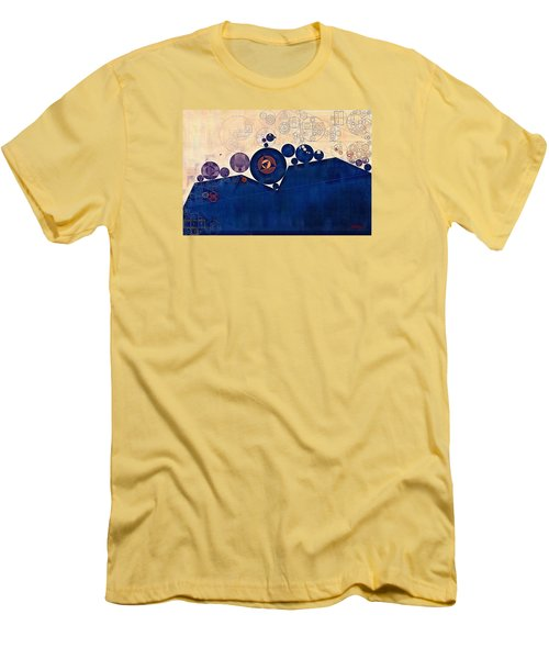 Abstract Painting - Champagne Men's T-Shirt (Athletic Fit)
