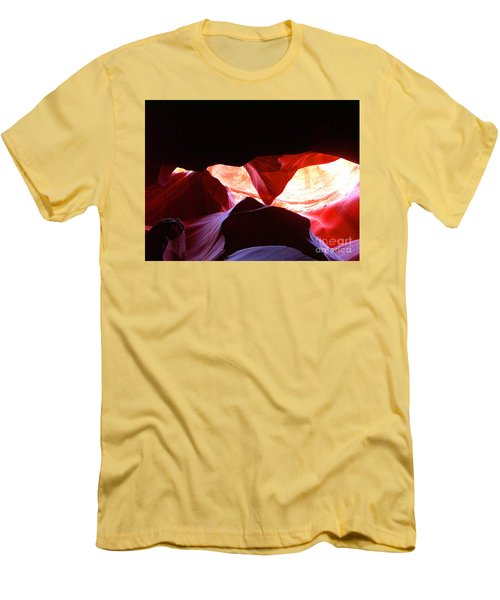 Antelope Slot Canyon - Astounding Range Of Colors Men's T-Shirt (Athletic Fit)