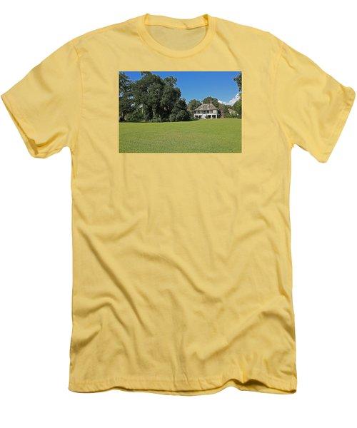 Antibellum Home Men's T-Shirt (Slim Fit) by Ronald Olivier