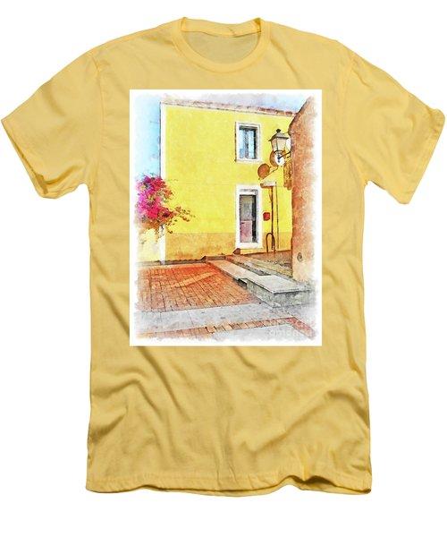 Arzachena Foreshortening Men's T-Shirt (Athletic Fit)
