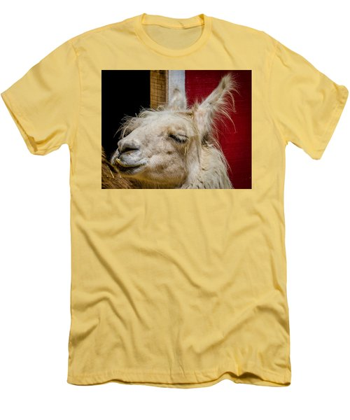 Men's T-Shirt (Slim Fit) featuring the photograph Bad Hair Day 3 by Kathleen Scanlan