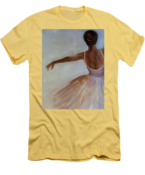 Ballerina  Men's T-Shirt (Slim Fit)
