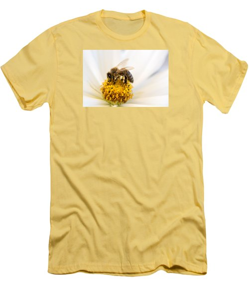 Bee Time Men's T-Shirt (Slim Fit) by Sabine Edrissi