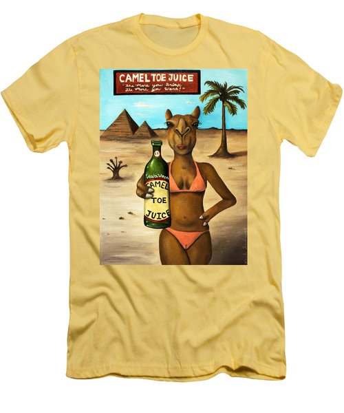 Camel Toe Juice Men's T-Shirt (Athletic Fit)