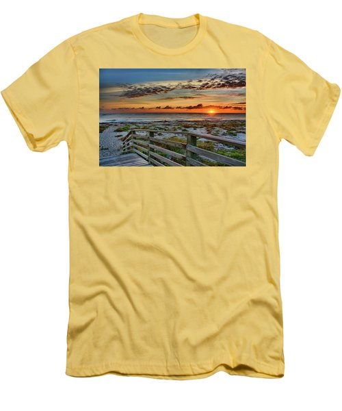 Canaveral Sunrise Men's T-Shirt (Athletic Fit)