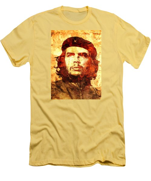 Che Guevara Men's T-Shirt (Slim Fit) by J- J- Espinoza