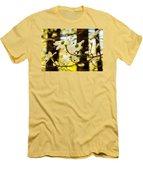 Dogwood Day Afternoon Men's T-Shirt (Slim Fit) by John Harding