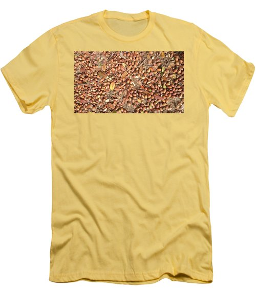 Donguri Means Acorn  Men's T-Shirt (Athletic Fit)