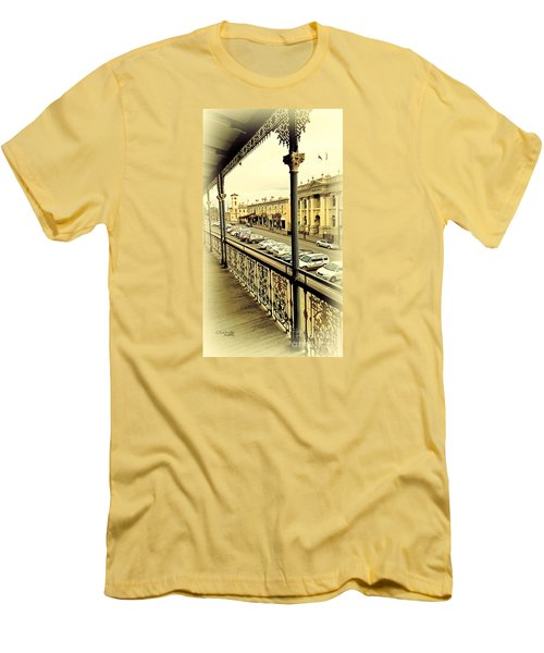 Downtown Daylesford II Men's T-Shirt (Slim Fit) by Chris Armytage