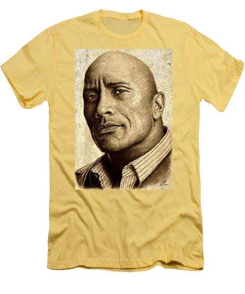 Dwayne The Rock Johnson Men's T-Shirt (Athletic Fit)