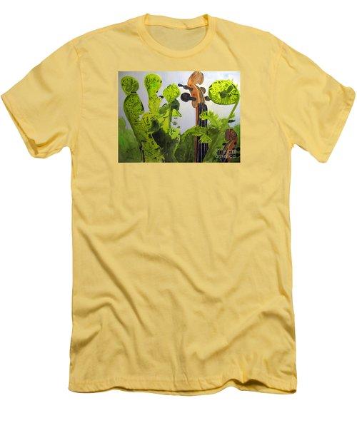 Fiddleheads Men's T-Shirt (Athletic Fit)