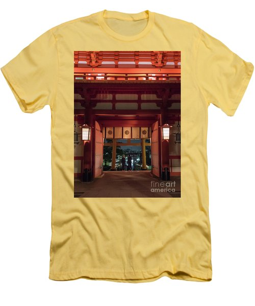 Fushimi Inari Taisha, Kyoto Japan Men's T-Shirt (Athletic Fit)
