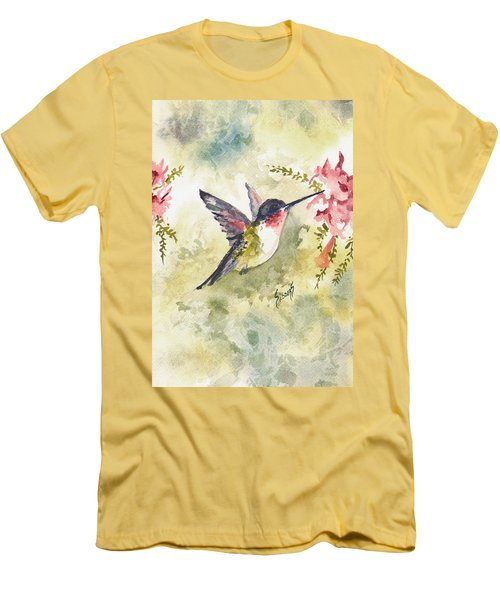 Hummingbird Men's T-Shirt (Athletic Fit)