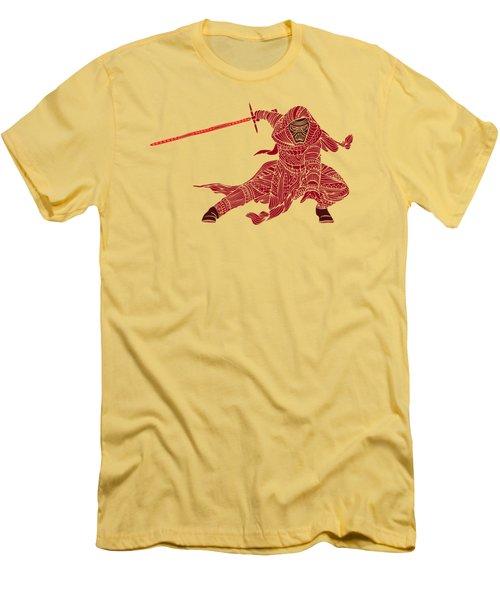 Kylo Ren - Star Wars Art - Red Men's T-Shirt (Athletic Fit)