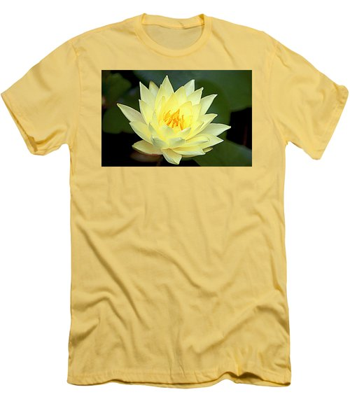 Lily Men's T-Shirt (Slim Fit) by Jerry Cahill
