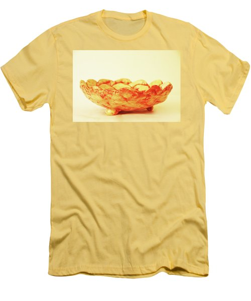Medium Patches Bowl1 Men's T-Shirt (Slim Fit) by Itzhak Richter