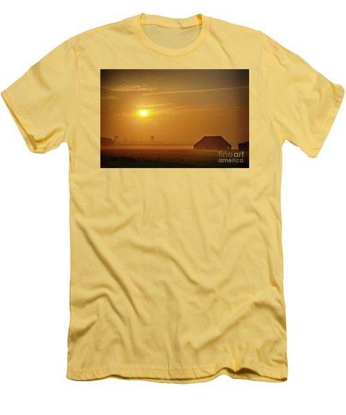 Outer Banks Memories 3 Men's T-Shirt (Slim Fit) by Dan Carmichael