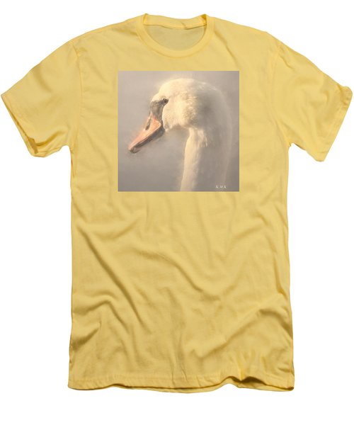 Men's T-Shirt (Slim Fit) featuring the photograph Purity by Rose-Maries Pictures