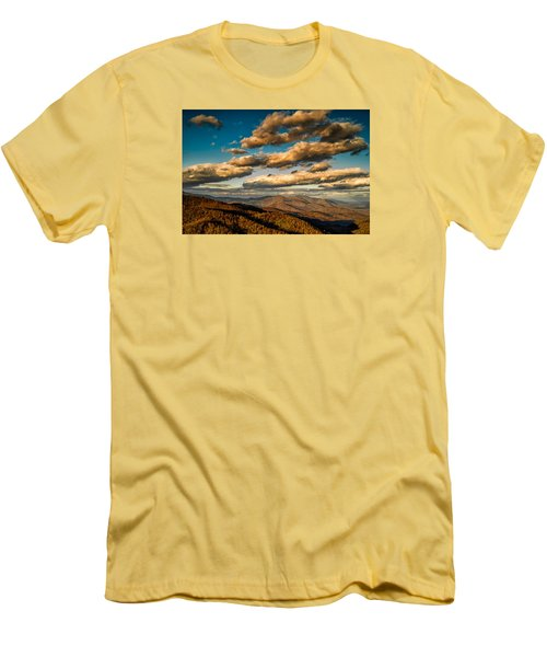 Men's T-Shirt (Athletic Fit) featuring the photograph Reaching For The Light by Joye Ardyn Durham