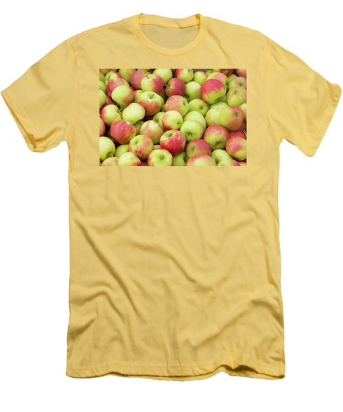 Men's T-Shirt (Slim Fit) featuring the photograph Ripe Apples by Hans Engbers
