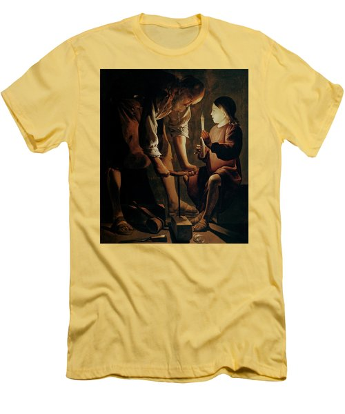 Saint Joseph The Carpenter  Men's T-Shirt (Athletic Fit)