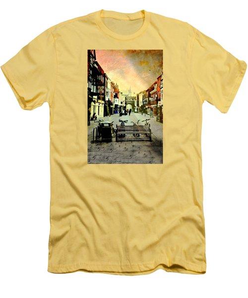 Salisbury England Men's T-Shirt (Athletic Fit)