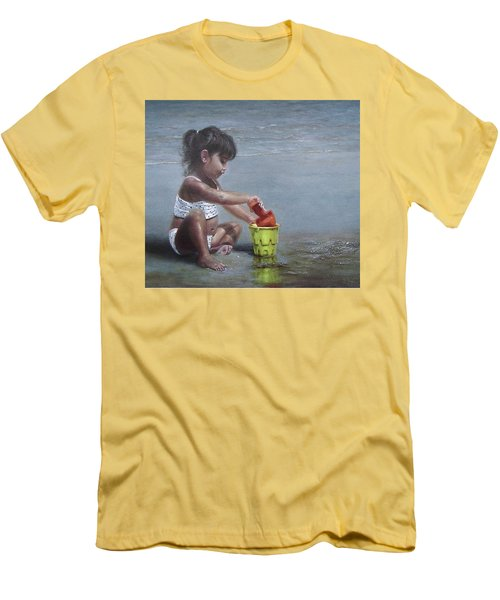 Sand Castles II Men's T-Shirt (Athletic Fit)