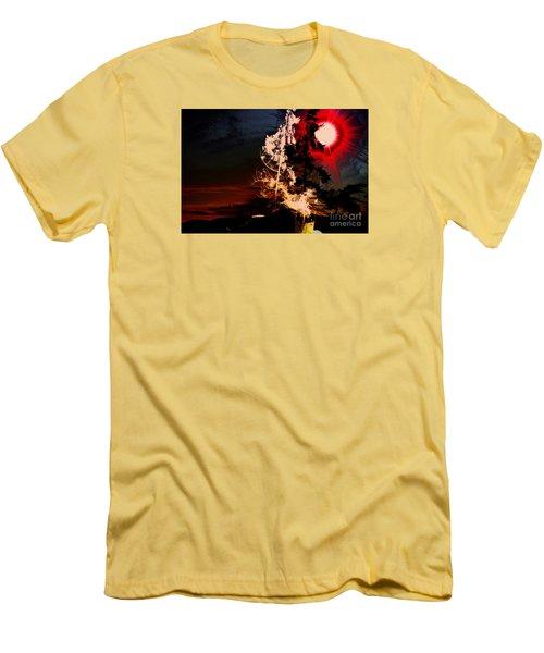 Sechelt Tree Men's T-Shirt (Slim Fit) by Elaine Hunter