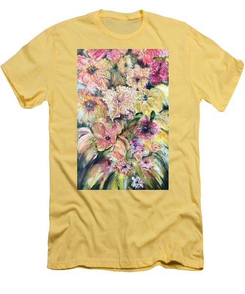 Spring Fireworks Men's T-Shirt (Athletic Fit)