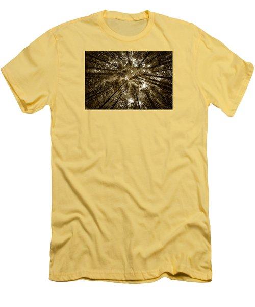 Star Light Men's T-Shirt (Slim Fit) by Denis Lemay