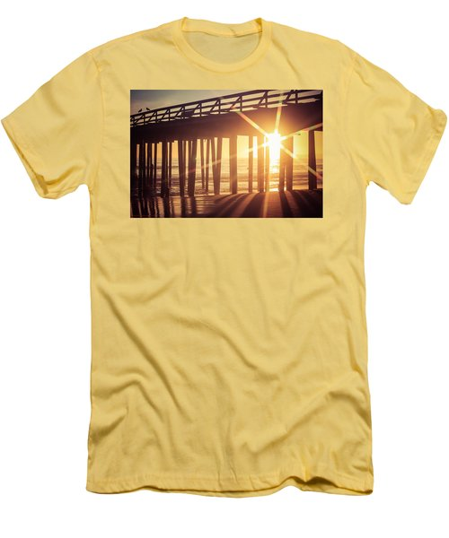 Men's T-Shirt (Athletic Fit) featuring the photograph Star by Lora Lee Chapman