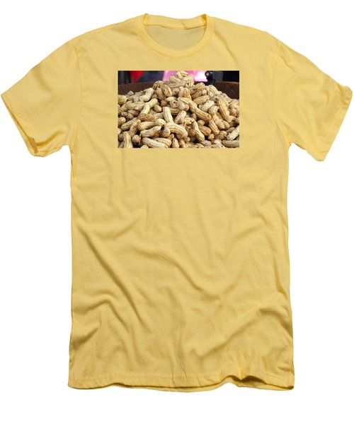 Steamed Peanuts Men's T-Shirt (Slim Fit)
