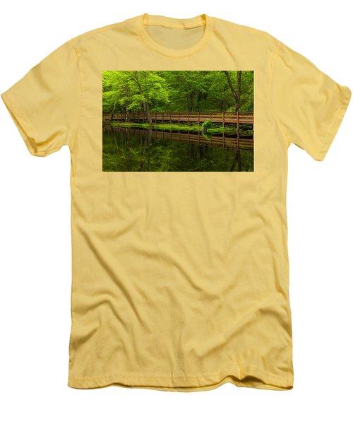 The Bridge Men's T-Shirt (Slim Fit) by Karol Livote